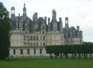 Фантастический замок Шамбор