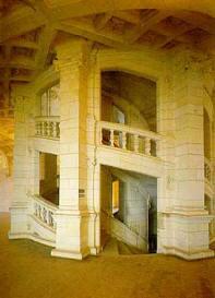Знаменитая спиральная лестница