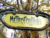 Знак метрополитена
