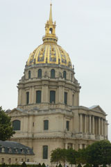 Сияющий купол Дома Инвалидов