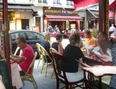Кафе в Латинском квартале