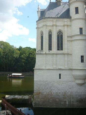 Луара возле замка Шенонсо