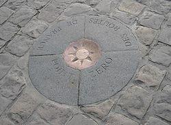 Нулевой километр в Париже