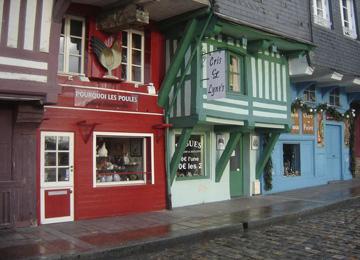 Очаровательные домики Онфлера