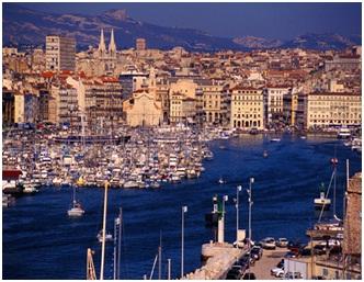 Города порты Франции