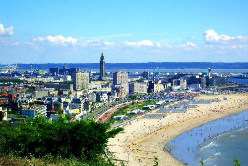 Города порты Франции - Гавр