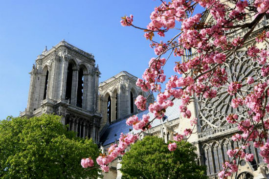 Париж весной