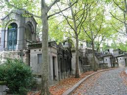 Аллея кладбища