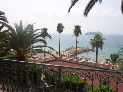 Ницца, вид на море