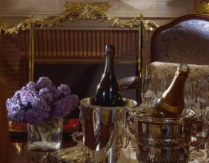Шампанское в бутылках