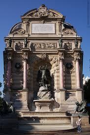 фонтан Сен-Мишель