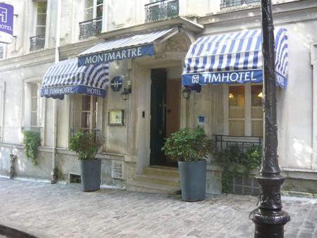 отель на Монмартре