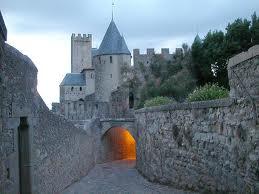 внутри средневекового Каркассона
