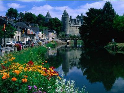 каналы Бретани Франция