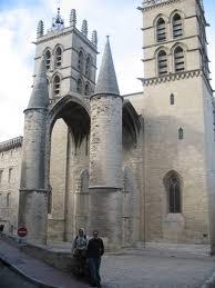 средневековый Монпелье