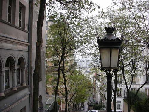 фонари на Монмартре