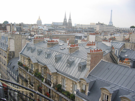 вид на Париж