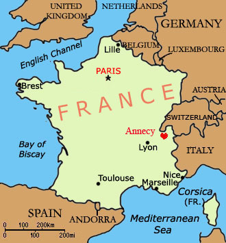 Территория Франции
