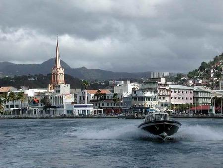 Столица острова Мартиника