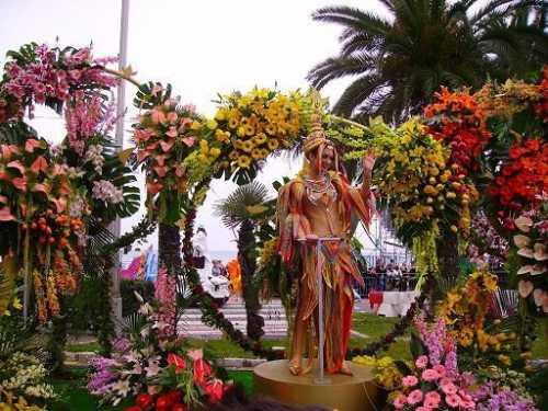 Ницца в дни карнавала