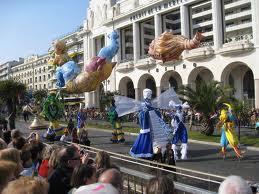 Парад в Ницце