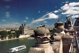 Вид с террасы музея д'Орсе