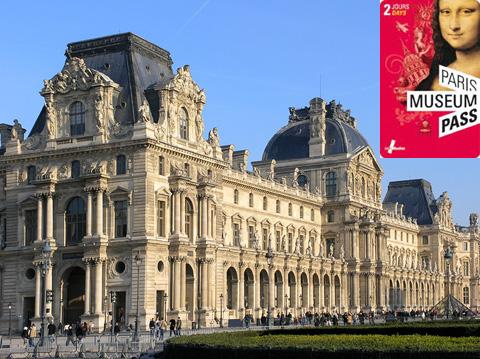 Лувр и музейная карта Парижа