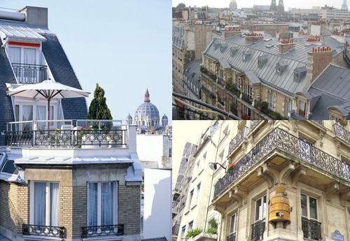 Архитектура Парижа, коллаж