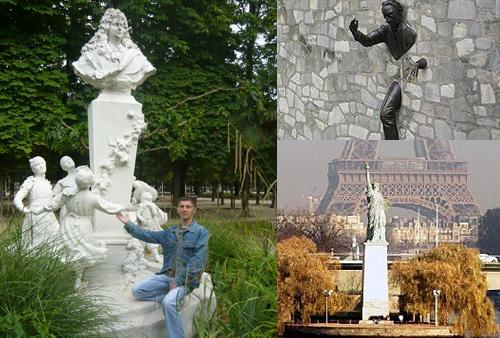 Парижские памятники