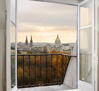погода в Париже в октябре