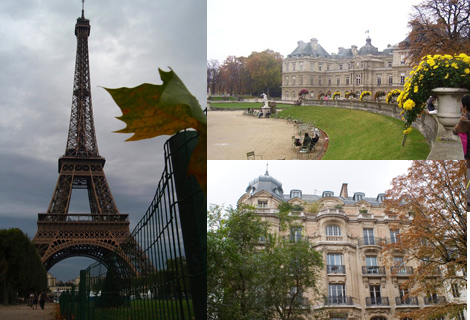 погода в Париже октябрь