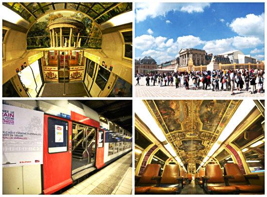 Как добраться до Версаля
