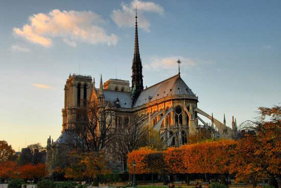 Погода в Париже в ноябре2