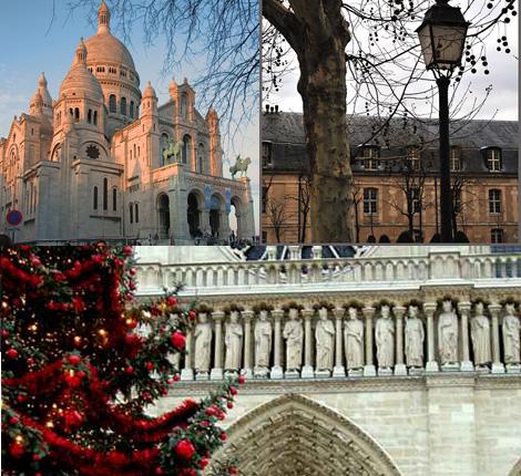 Погода в Париже в декабре3