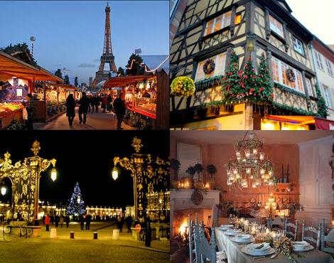 Рождество в Париже, Эльзасе, Провансе и Лотарингии