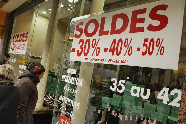 Распродажи в Париже 2013-2