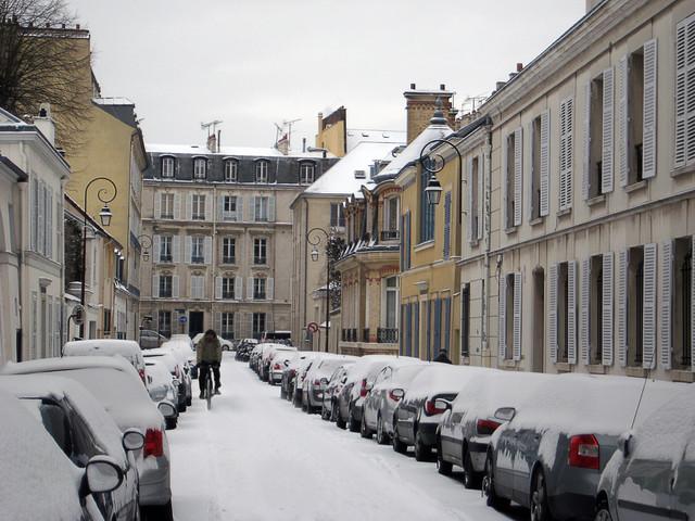 Погода в Париже в феврале2