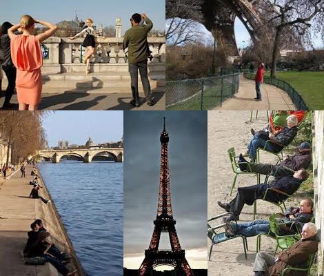 Погода в Париже в марте2