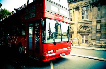 Экскурсионные автобусы в Париже