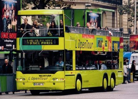 Экскурсионные автобусы в Париже2