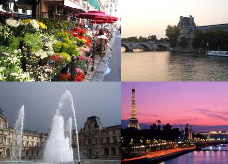 Погода в Париже в июне2