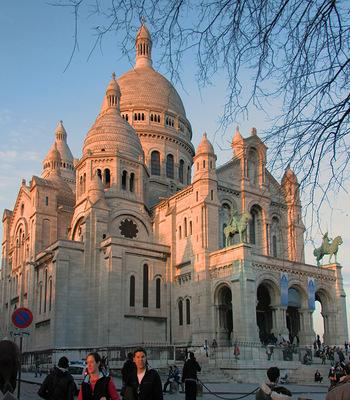 Сакре-Кер в Париже