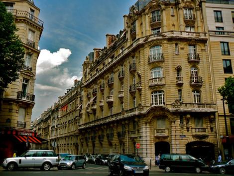 17 округ Парижа2, бульвар Курсель