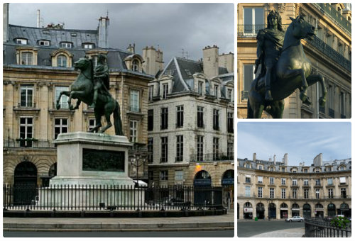 Площадь Побед в Париже-2