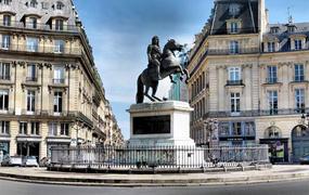 Площадь Побед в Париже