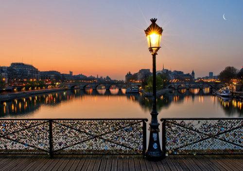 Мост Искусств в Париже-3