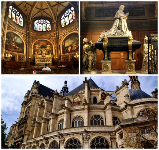 Церковь Сент-Эсташ-2