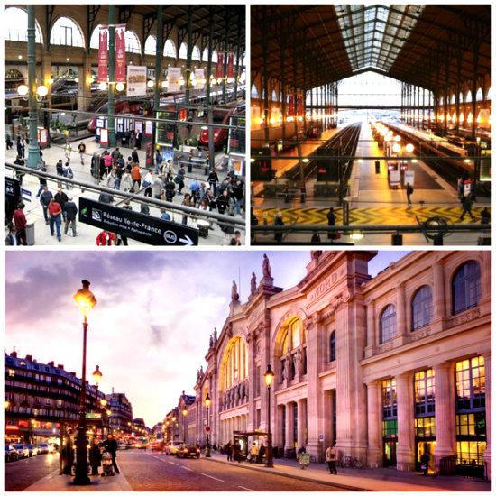 Северный вокзал в Париже-2