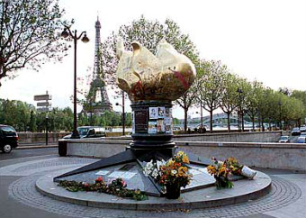 Факел Свободы в Париже