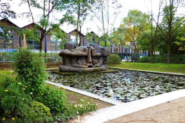 Парк Берси скульптуры